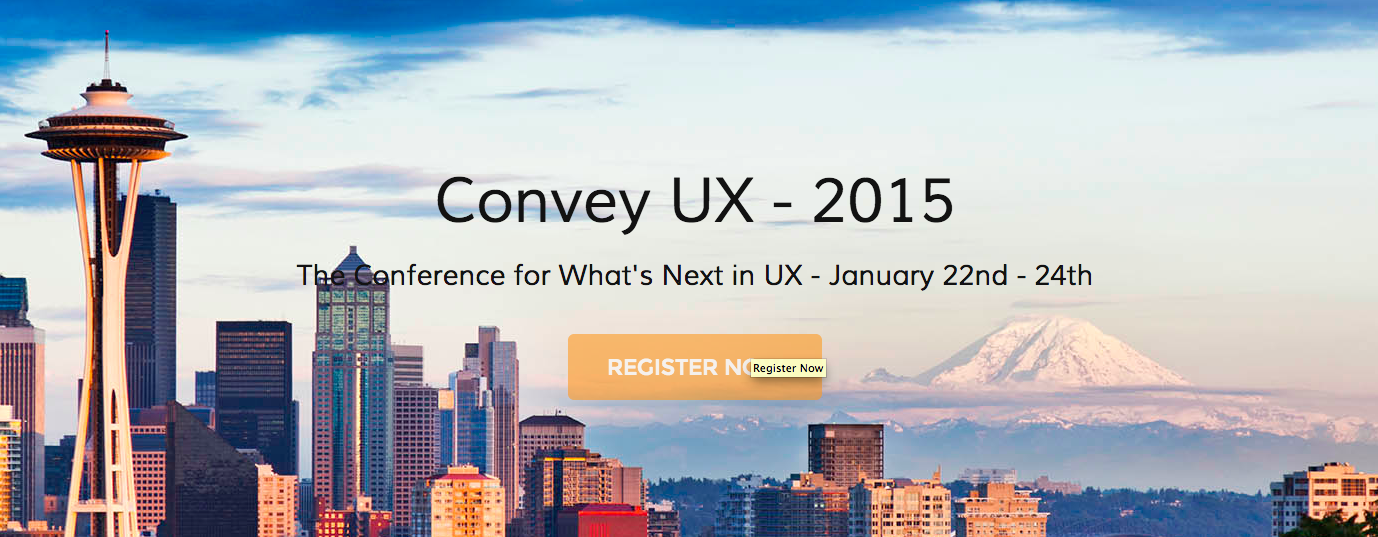 Convey UX, user experience events
