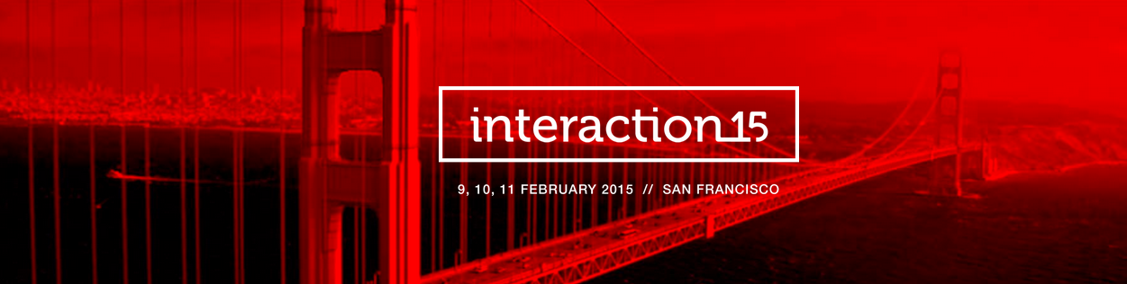Interaction15, user experience events