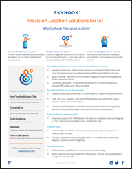 Solution Sheet -IoT _Precision Location