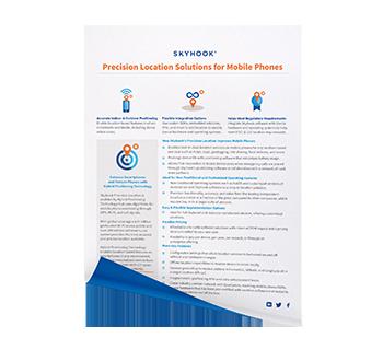Mobile Phone Solution Sheet Mock Up