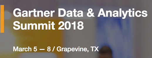 Gartner data and analytics summit