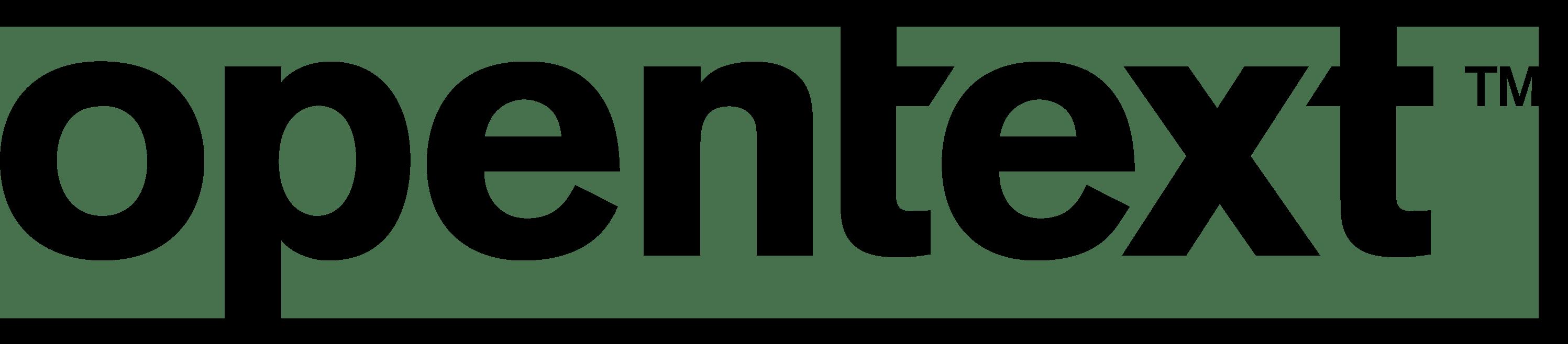 OpenText Logo